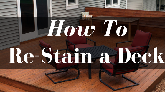 How To Re Stain A Deck To A Different Color Ready Seal